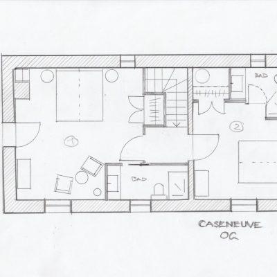Grundriss Caseneuve - OG